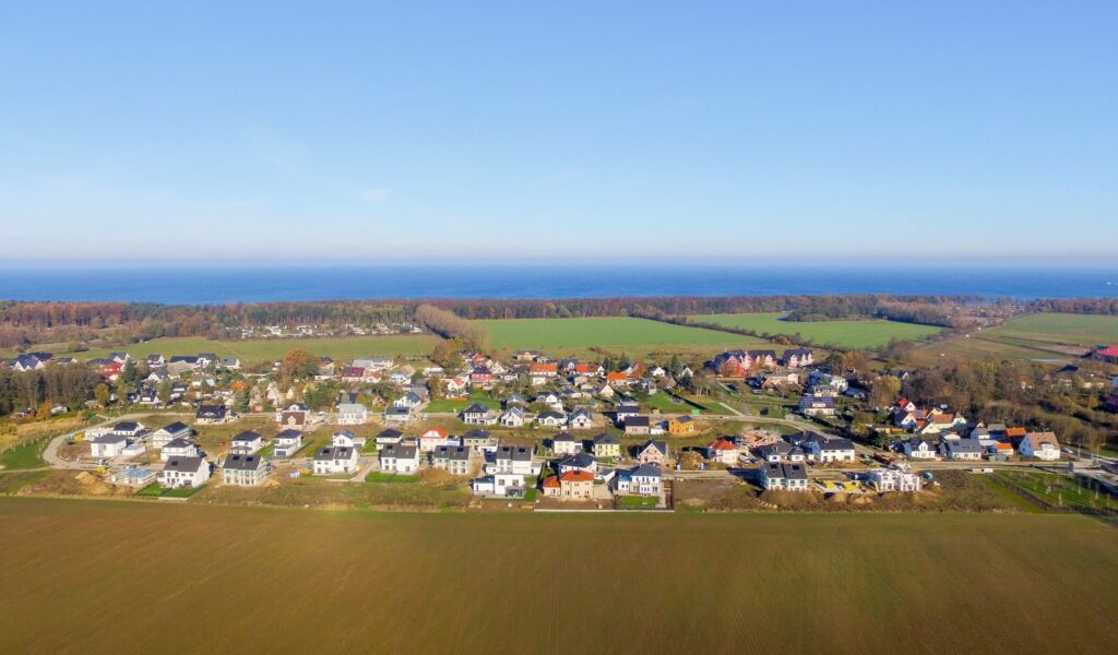 Am Golfplatz 14.11.2016 Luftaufnahme