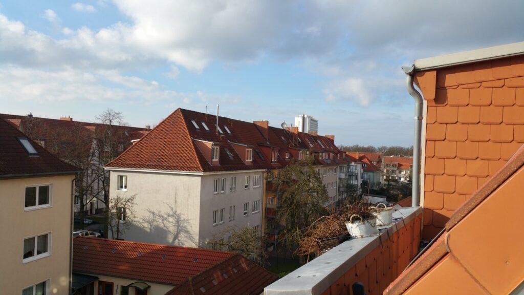 Maisonettewohnung Dachterrasse drei Zimmer