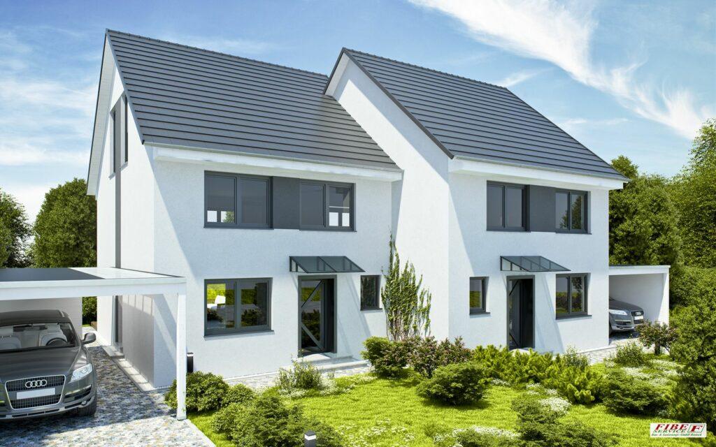 Doppelhaushälfte projektiert
