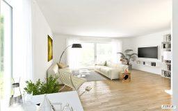 Beispiel Innenasicht Doppelhäuser Projektentwicklung