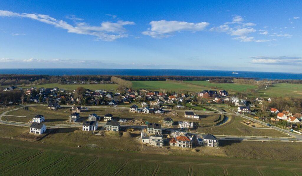 Luftbild Der Projektentwicklung