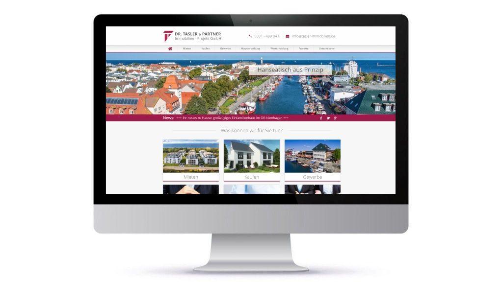 Monitor Mit Neuer Homepage